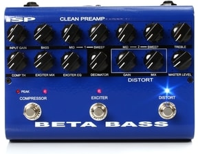 iSP Beta Bass Pedal - Preamp