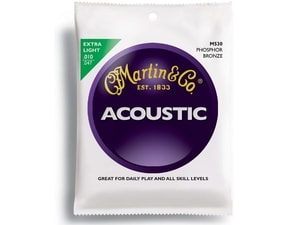 Martin M530 Traditional 92/8 Phosphor Bronze Extra Light gauge 10 / 47 - struny na akustickou kytaru