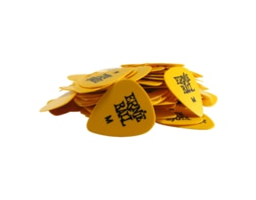 9117 Ernie Ball série SIDEMAN Medium 0.72mm Yellow Cellulose Pick - žluté, medium, celuloidové trsátko 1 Ks