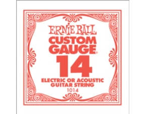 1014 .014 Electric Plain Single String