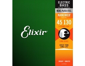 Elixir Bass Nanoweb Medium 5str / 45 - 130 /