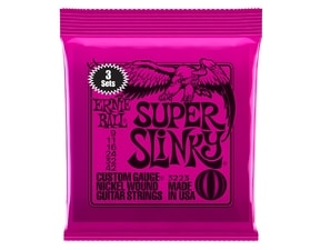 3223 Nickel Super Slinky Pink Electric Guitar Strings 3 Pack