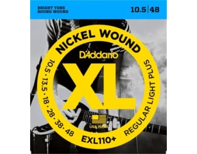 D´Addario EXL110+ Nickel Wound Electric Regular Light .010.5-.048 struny na elektrickou kytaru
