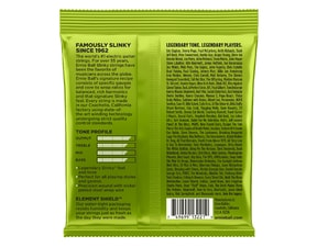 3221 Ernie Ball Nickel Regular Slinky  Electric Guitar Strings 3 Pack struny na elektrickou kytaru