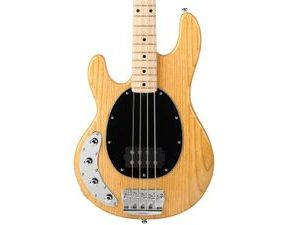 Sterling by MusicMan StingRay Ray34 ASH Lefty Natural - levoruká baskytara