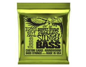 2852 Ernie Ball Short Scale Regular Slinky Bass Nickel Wound .045 - .105
