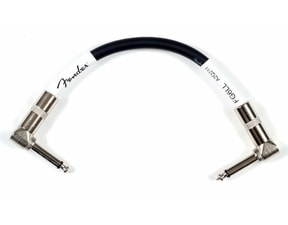 "Fender Patch Cable 6"" lomený - lomený jack / 15cm /"