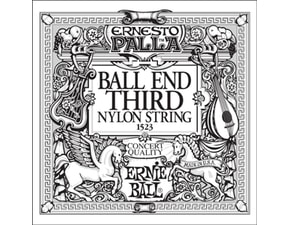 1523 Ernie Ball Black E3 Nylon Classical Ball End - 1ks