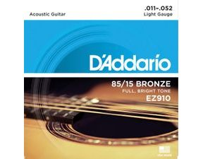 D´Addario EZ910  85/15 Bronze Great American Acoustic Light .011-.052 struny na akustickou kytaru