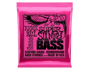2834 Ernie Ball Super Slinky Bass Nickel Wound .045 - .100