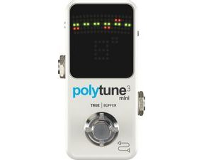 TC Electronic  Polytune 3 / Buffer Mini - pedálová ladička