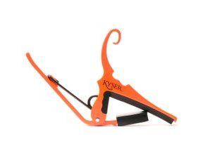 Kyser KG6NOA Capo Quick-change Neon Orange kapodastr