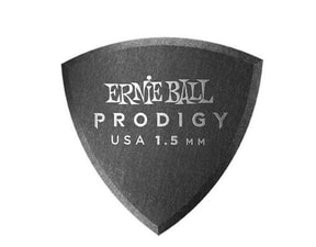 9331 Ernie Ball 1.5mm Black Shield Prodigy Picks 6-pack