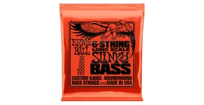 2838 Ernie Ball 6-string Slinky Bass Long Scale Nickel Wound .032 - .130