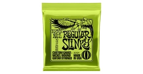 2221 Ernie Ball Regular Slinky Nickel Wound .010 - .046 Lime Pack