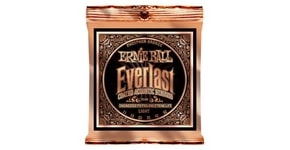 "2548 Ernie Ball Everlast Phosphor Bronze Coated Light /11-52/ - ""potažené"" struny na akustickou kytaru"