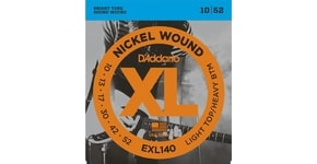 D´Addario EXL140 Nickel Wound Electric Light Top-Heavy Bottom .010-.052 struny na elektrickou kytaru