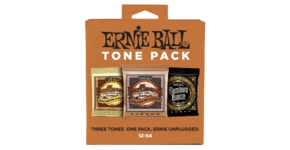3313 Ernie Ball Medium Light Acoustic Guitar Tone Pack(80/20 Earthwood, Phosphor Bronze, Aluminium Bronze)