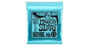 2228 Ernie Ball Mighty Slinky Nickel Wound Electric Guitar Strings 8.5 - 40 Gauge - struny na elektrickou kytaru