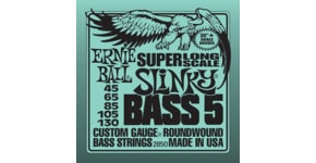 2850 Ernie Ball Slinky Super Long Scale Bass5 .045 - .130