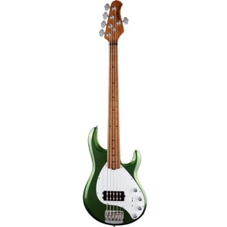 MusicMan Stingray 5 H Special Charging Green, Roasted Maple Neck