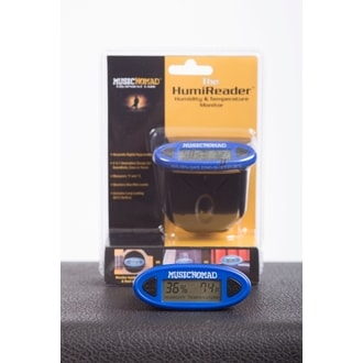 MusicNomad MN305 The HumiReader - Humidity & Temperature Monitor - 3 in 1