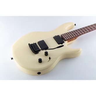 MusicMan Luke 3 HH Buttermilk elektrická kytara - Roasted Maple Neck - Rosewood hmatník