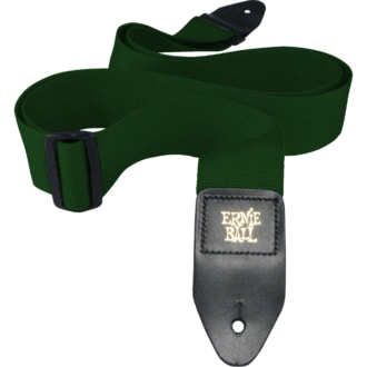 4050 Ernie Ball Forest Green Polypro Strap