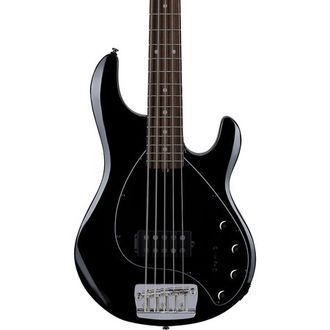 Sterling by MusicMan StingRay5 RAY35-BK-R2 , Black - basová kytara