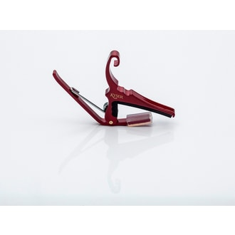 Kyser KG6RA Capo Quick-change Ruby Red kapodastr