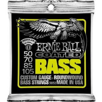 3832 Coated Bass Strings - Regular Slinky .050 - .105