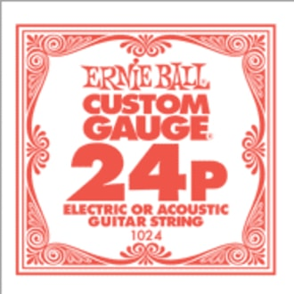 1024 .024 Electric Plain Single String