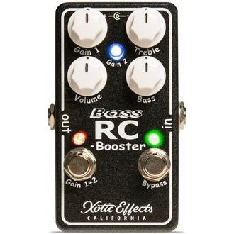 XOTIC Effects Bass RC Booster V2 - Basový booster