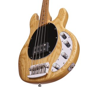 Sterling by MusicMan StingRay RAY34-ASH-M2 , Natural, Ashwood Body - basová kytara
