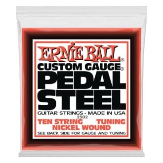 2502 Ernie Ball Pedal Steel Nickel Wound 10-string E9 Tunning