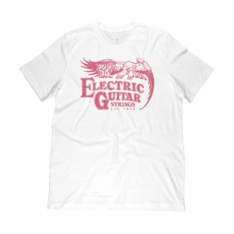 4866 Ernie Ball 62 Electric Guitar T-Shirt SM triko
