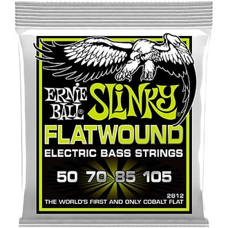 2812  Ernie Ball Regular Slinky Flatwound Cobalt 50 – 105