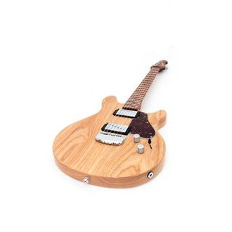 MusicMan USA Valentine Guitar - Classic Natural - Roasted Maple Neck - elektrická kytara