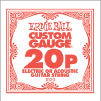 1020 .020 Electric Plain Single String