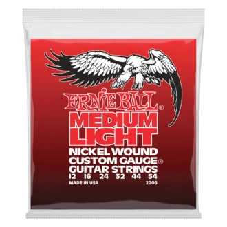 2206 Ernie Ball Medium Light Electric Nickel Wound .012 - .054 w/ wound G struny na elektrickou kytaru