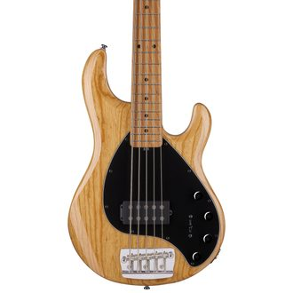 Sterling by MusicMan StingRay5, Natural, Ashwood Body - basová kytara