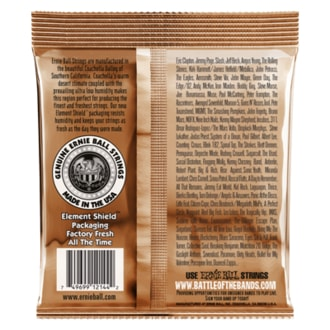 2144 Ernie Ball Earthwood Medium Phosphor Bronze - Power Slinky Acoustic .013 - .056