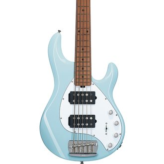 Sterling by MusicMan StingRay5 HH Daphne Blue Limited - basová kytara