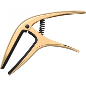 9603 Ernie Ball Axis Capo - Gold