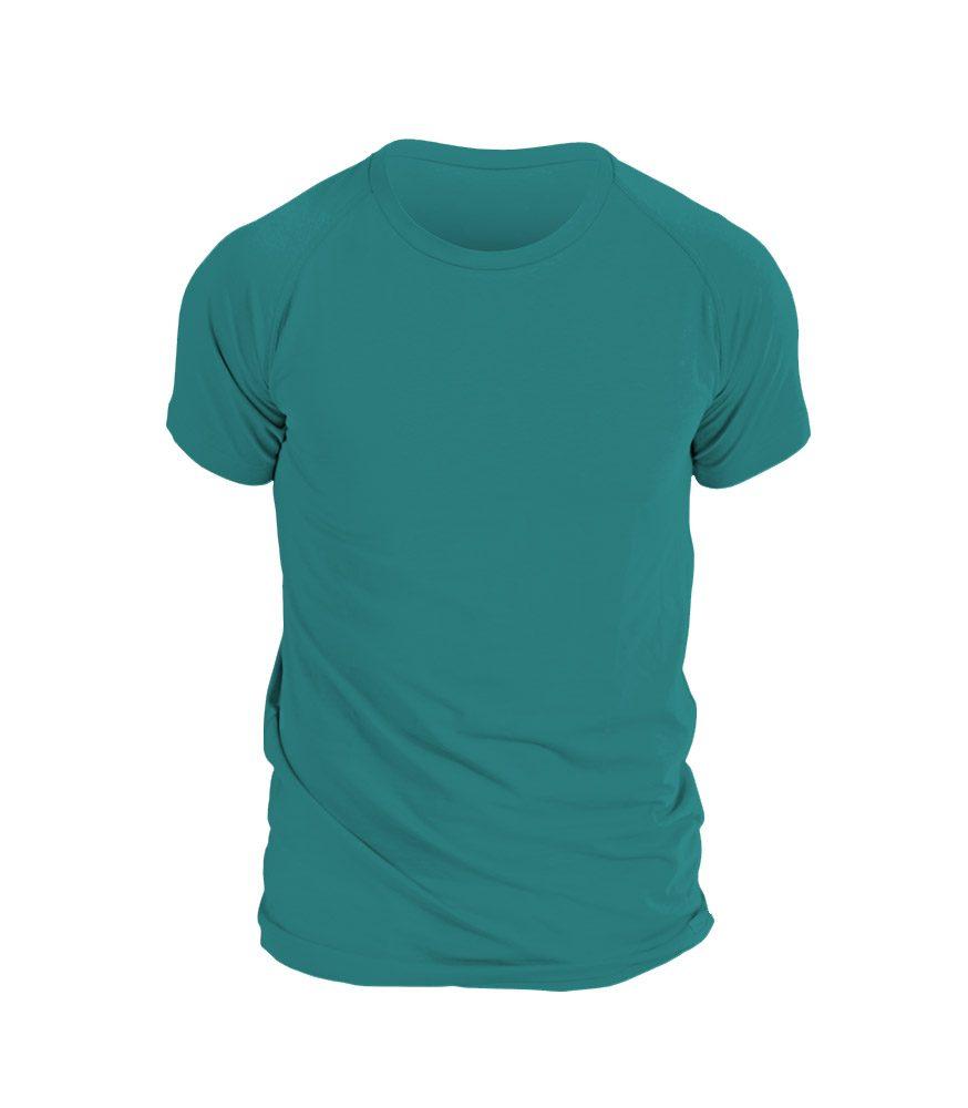 nanosilver Pánské triko nanosilver krátký rukáv - L - smaragdová