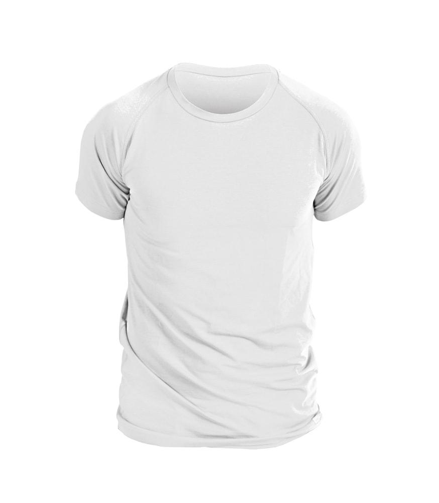 nanosilver Pánské triko nanosilver krátký rukáv - XXL - bílé
