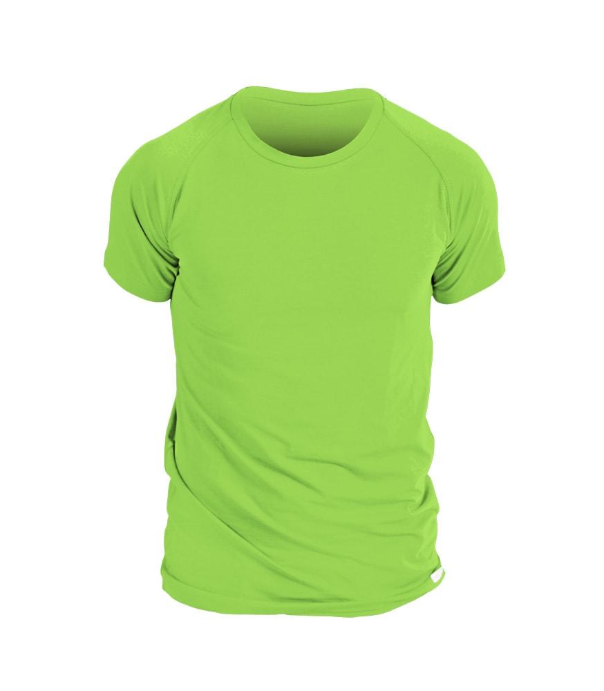 nanosilver Pánské triko nanosilver krátký rukáv - L - zelené