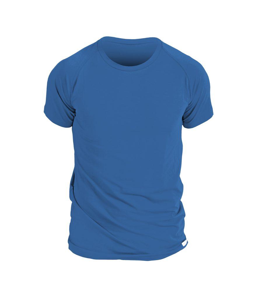 nanosilver Pánské triko nanosilver krátký rukáv - L - královská modrá