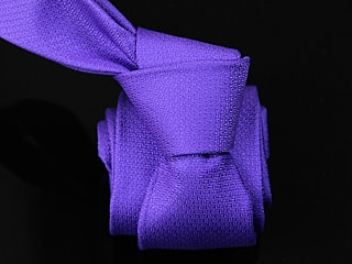 nanosilver Moderní kravata nanosilver® - sytě fialová