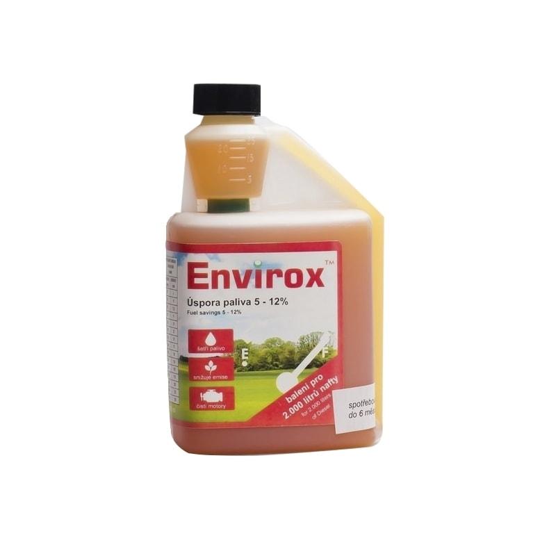 nanosilver Envirox - aditivum do motorové nafty - 500 ml s dávkovačem